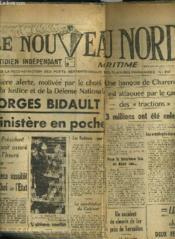 Le Nouveau Nord Maritime N° 924 - 5eme Annee - Vendredi 28 Ocotbre 1949. - Couverture - Format classique