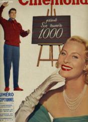 CINEMONDE - 21e ANNEE - N° 1000 - Numéro exceptionnel, Cinémonde présente son numéro 1.000 - Couverture - Format classique