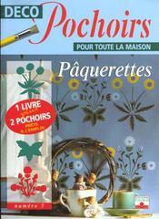 Deco Pochoirs Pour La Maison ; Paquerettes - Intérieur - Format classique