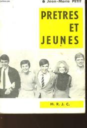 Pretres Et Jeunes - Couverture - Format classique