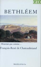 Bethléem - Couverture - Format classique