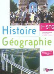 Histoire geo 1re stg manuel 06 - Intérieur - Format classique