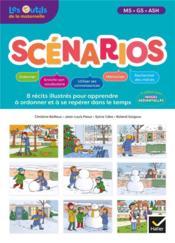Les outils de la maternelle ; scénarios ; français ; MS, GS ; guide pédagogique (édition 2020) - Couverture - Format classique