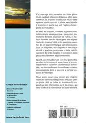 La maîtrise du paramoteur ; préparation à l'examen théorique commun ULM (6e édition) - 4ème de couverture - Format classique