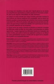 Maîtriser l'information comptable t.2 - 4ème de couverture - Format classique