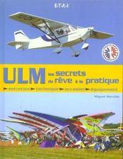 Ulm, les secrets du reve a la pratique - Intérieur - Format classique