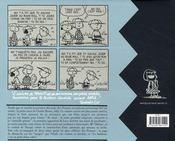 Snoopy et les Peanuts ; INTEGRALE VOL.5 ; 1959-1960 - 4ème de couverture - Format classique