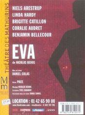 Eva - 4ème de couverture - Format classique