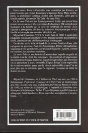 Tante Tula (La) - 4ème de couverture - Format classique