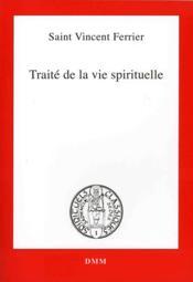 Traite de la vie spirituelle - Couverture - Format classique