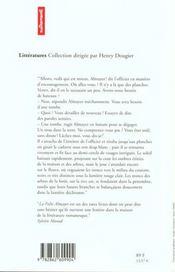 La Folie Almayer - 4ème de couverture - Format classique