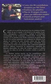 Etoiles et planètes - 4ème de couverture - Format classique