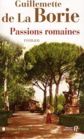 Passions romaines - Couverture - Format classique
