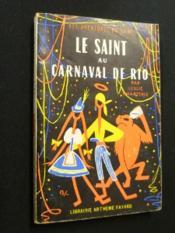 Le Saint au Carnaval de Rio - Couverture - Format classique