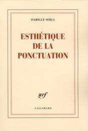 Esthétique de la ponctuation - Couverture - Format classique
