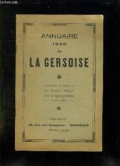 Annuaire 1950 De La Gersoise. - Couverture - Format classique