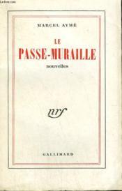 Le Passe-Muraille. - Couverture - Format classique