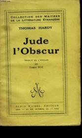 Jude L'Obscur. - Couverture - Format classique