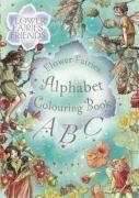 Flower fairies friends - flower fairies alphabet colouring book - Couverture - Format classique