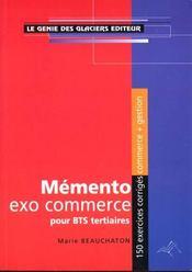 Memento Etude De Cas - Intérieur - Format classique