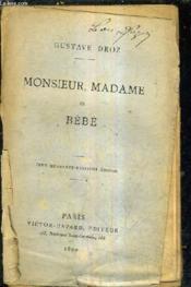 Monsieur Madame Et Bebe / 148e Edition. - Couverture - Format classique