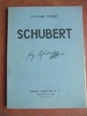 Franz Schubert. Esquisse biographique. - Couverture - Format classique