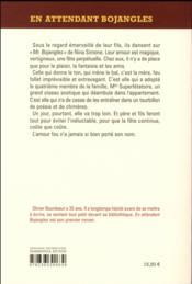 En attendant Bojangles - 4ème de couverture - Format classique