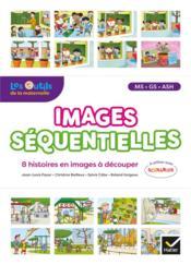 Images séquentielles ; français ; MS, GS, ASH ; 8 histoires en images à découper (édition 2020) - Couverture - Format classique