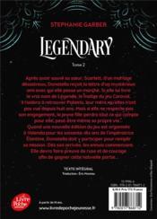 Caraval T.2 ; legendary - 4ème de couverture - Format classique