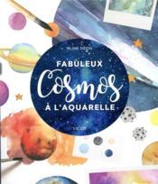 Mon petit cosmos à l'aquarelle - Couverture - Format classique