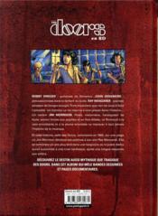The Doors en BD - 4ème de couverture - Format classique
