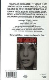 99 francs - 4ème de couverture - Format classique