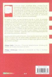 Droit civil ; les sûretés ; la publicité foncière - 4ème de couverture - Format classique
