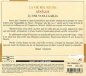 La Vie Heureuse - 4ème de couverture - Format classique