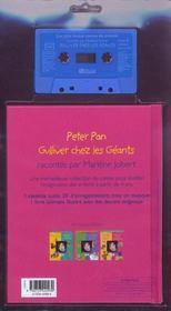 Peter Pan ; Gulliver - 4ème de couverture - Format classique