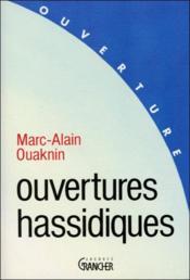 Ouvertures hassidiques - Couverture - Format classique