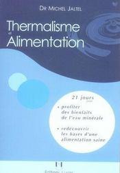 Thermalisme et alimentation - Intérieur - Format classique