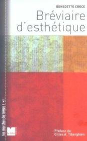 Breviaire D Esthetique - Couverture - Format classique