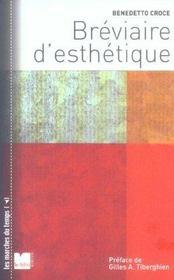 Breviaire D Esthetique - Intérieur - Format classique