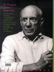 Et Picasso peint Guernica - 4ème de couverture - Format classique