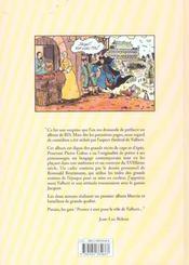 Valbert T.1 ; Jacquot - 4ème de couverture - Format classique