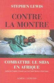 Contre la montre ; combattre le sida en afrique - Intérieur - Format classique
