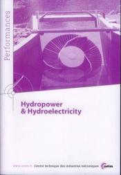 Hydropower & hydroelectricity - Couverture - Format classique