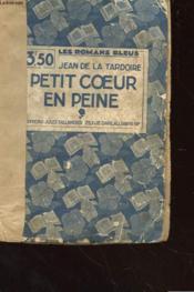 Petit Coeur En Peine - Couverture - Format classique