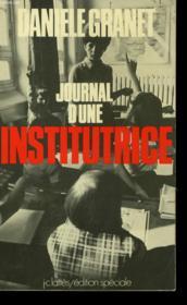 Journal D'Une Institutrice - Couverture - Format classique