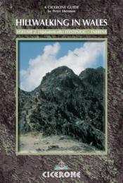 Hillwalking In Wales Vol 2 South - Couverture - Format classique