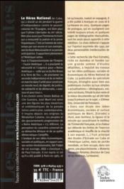 Jose marty 1853-1895 - les fondements de la democratie en amerique latine - 4ème de couverture - Format classique