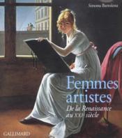 Femmes artistes - de la renaissance au xxie siecle - Couverture - Format classique