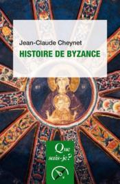 Histoire de Byzance (5e édition) - Couverture - Format classique
