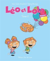 Léo & Lola super T.2 - Couverture - Format classique
